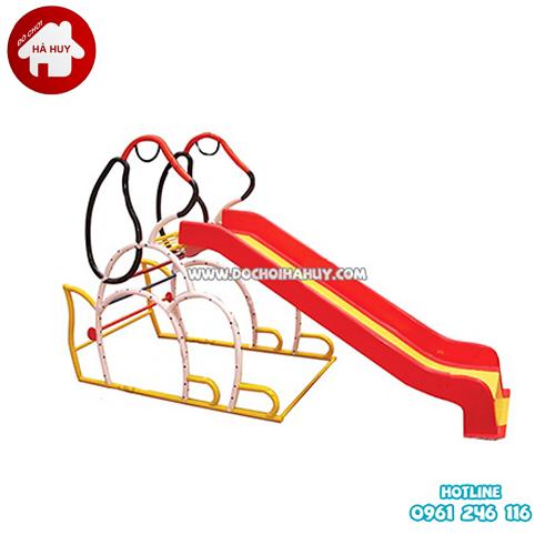 Thang leo cầu trượt đơn hình con Chó HB1-014-1