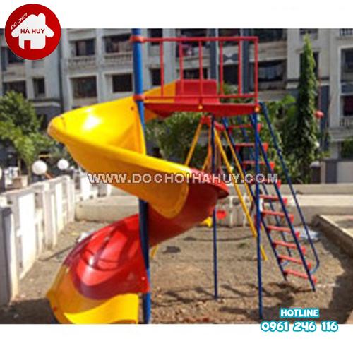 Thang leo cầu trượt xoắn cho bé HB1-020-2