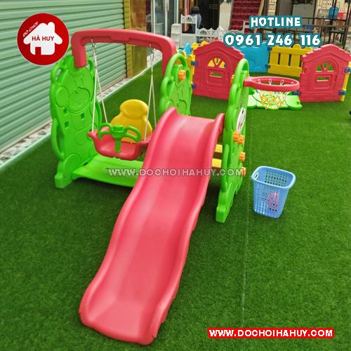 Lợi ích của đồ chơi cầu trượt đối với trẻ mầm non
