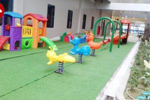 Công trình khu vui chơi mẫu giáo đẹp tại Hưng Yên
