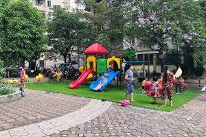 Cần mua những đồ chơi ngoài trời nào cho khu chung cư đô thị?