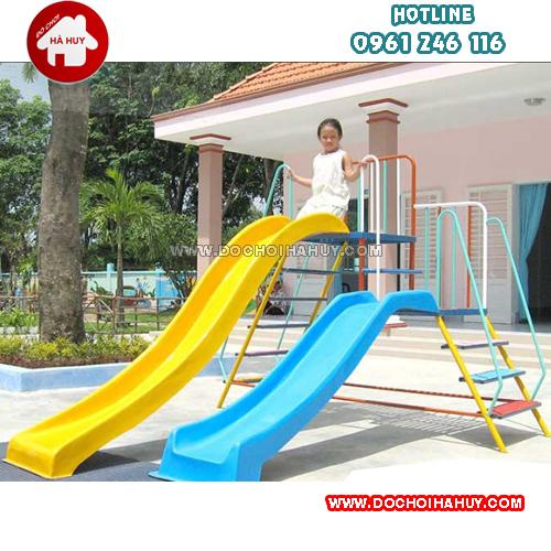 Hướng dẫn sử dụng và bảo quản thang leo cầu trượt cho bé