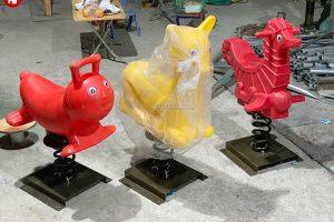 5 mẫu thú nhún lò xo nhập khẩu kiểu dáng cực độc đáo năm 2021